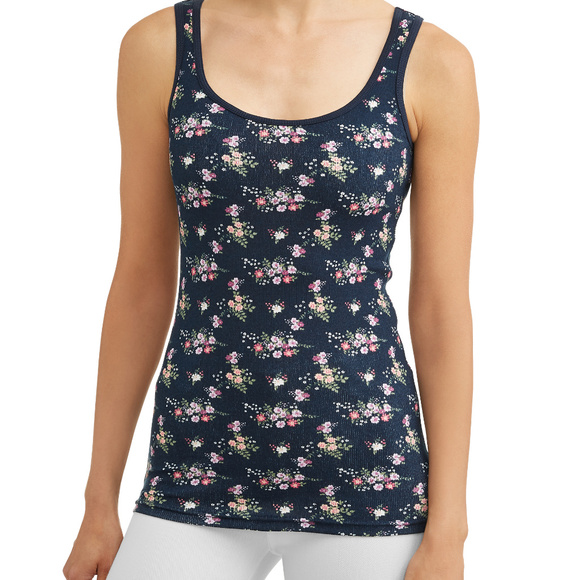 Time and Tru Tops - Women's Rib Tank Top Scoop Neck SIZE M